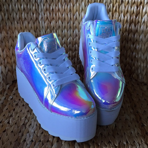 pick up 8cef3 8052a 💙Cute to the Core x YRU LALA Holographic Sneakers